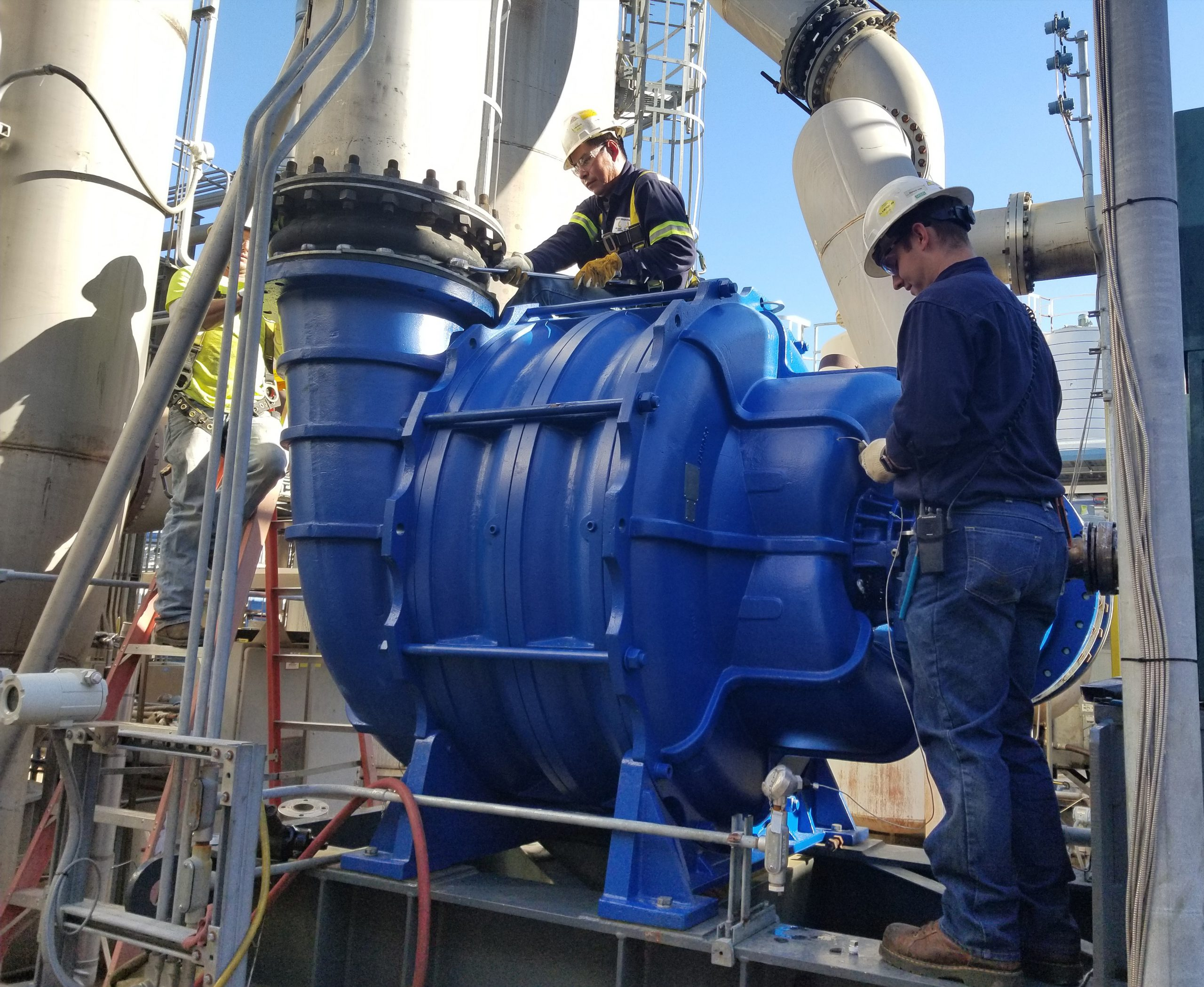 Rent-to-Own Options as well as Brand New Replacement Blowers are available. Blower Packages can include a simple bare blower or complete integrated system to include electric motor, motor starter, PLC control with monitoring and network connections, and other accessory items all packaged to simply connect power and connect piping and its fully automated. We can also build a rental to a specific process gas with the correct materials and protection. Area classifications to Class 1, Div 1 or Zone 0 or ATEX are available.