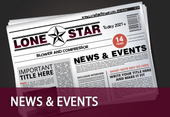 Lone Star Blower News and Events