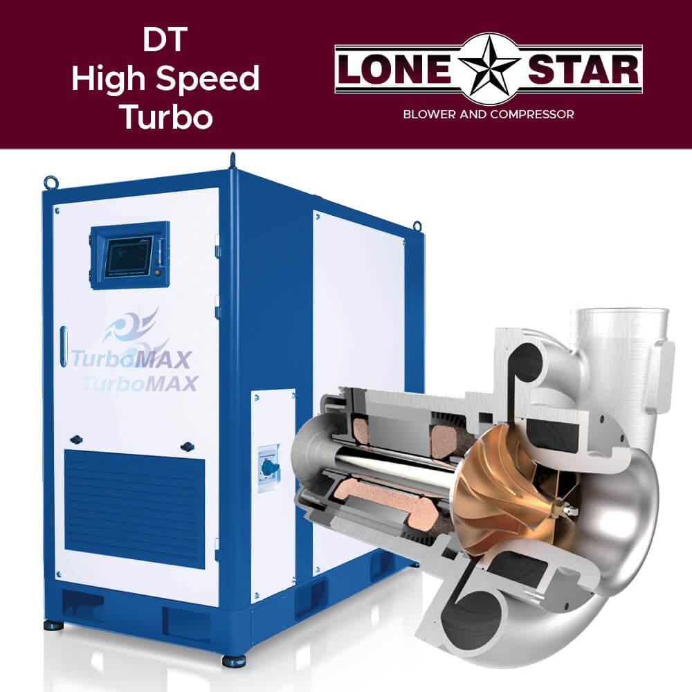 DT High Speed Turbo Blower Lone Star Blower