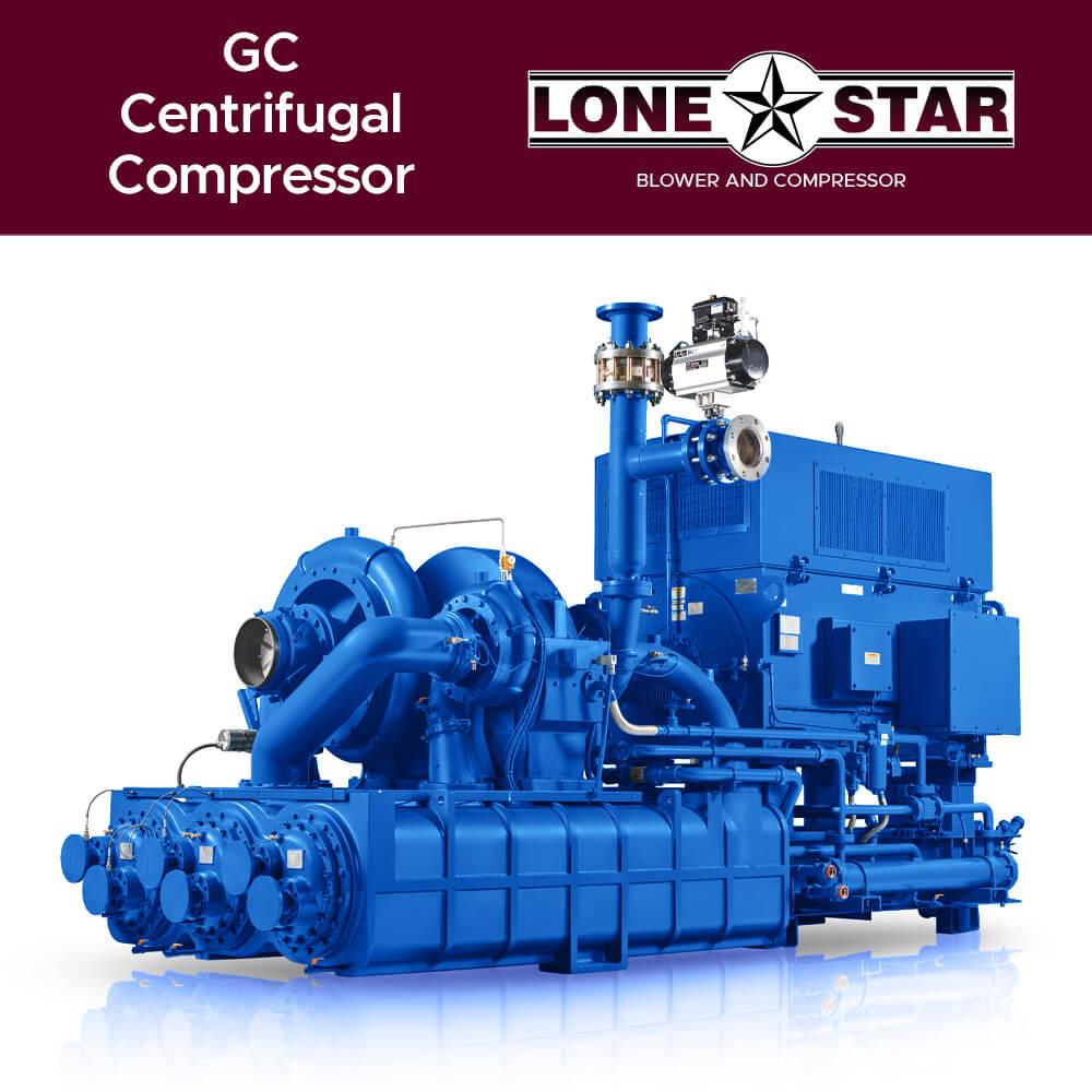 GC Centrifugal Compressor Lone Star Blower