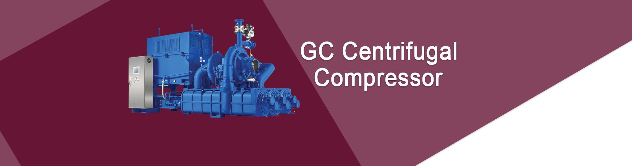 GC Centrifugal Compressor Technology header