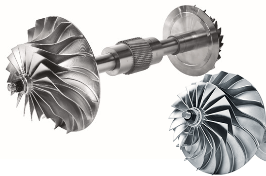 GC Centrifugal Compressor gears and impellers