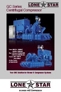 LSB GC Series Centrifugal Compressor Brochure Data