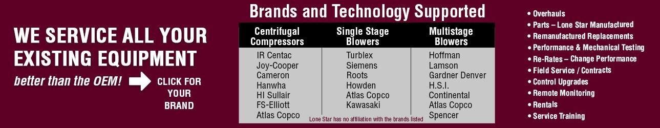Lone Star Compressor Blower Aftermarket OEM