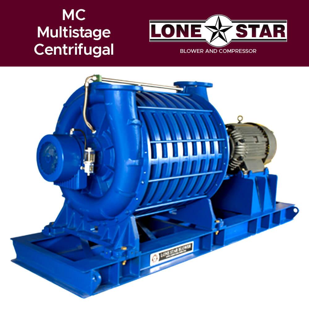 MC Multistage Centrifugal Turbo Blower Lone Star Blower