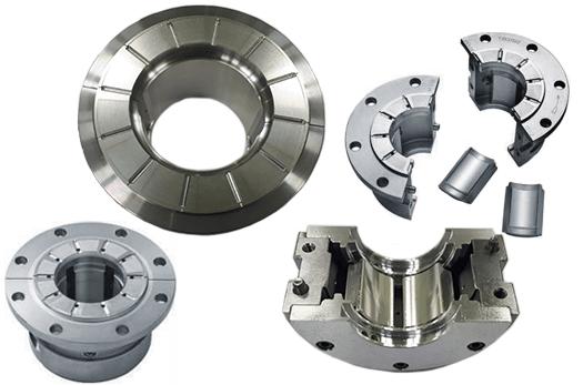 Lone Star Centrifugal Compressor cut-away gear bearings