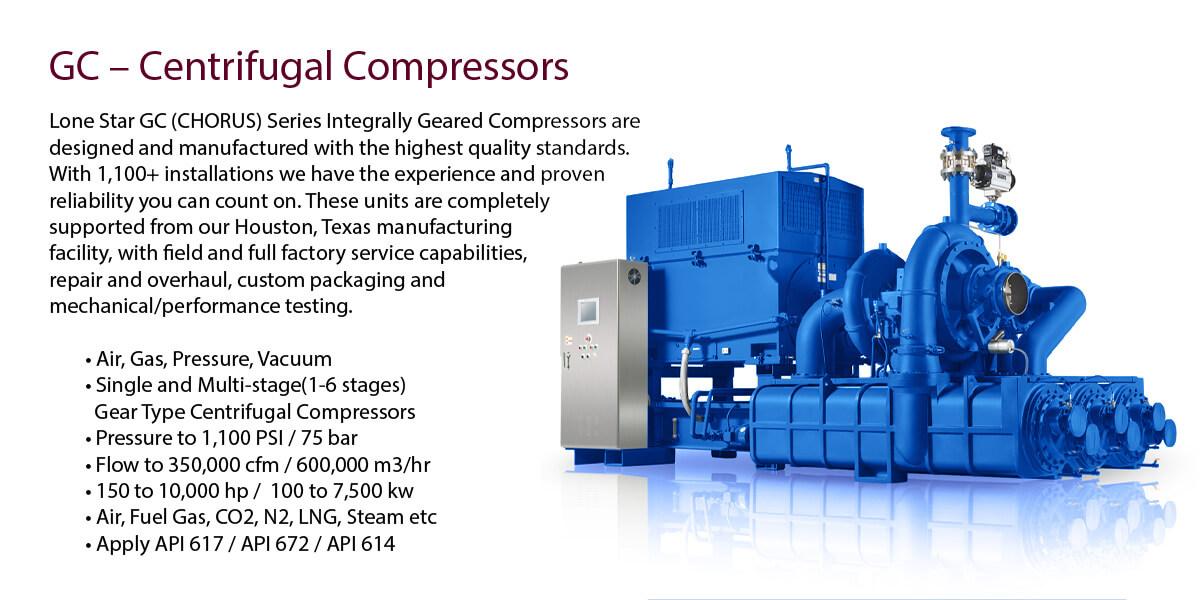 Lone Star Centrifugal Compressor