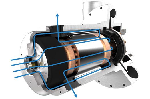 Lone Star High Speed Gearless Turbo Blower Core Tech Motor Design
