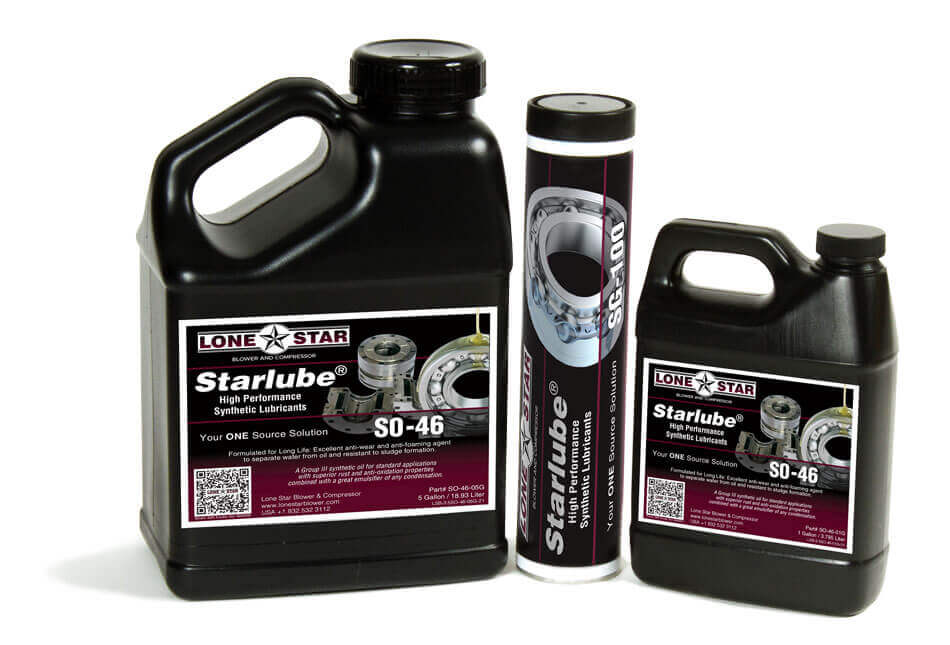 Lone Star Starlube Lubricants for Blowers and Compressors