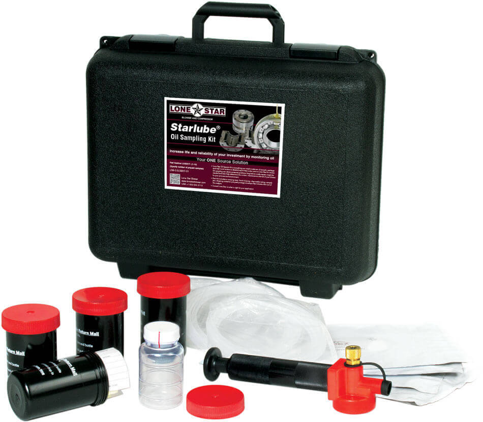 Lone Star Starlube Oil Sampling Kit for Blowers and Compressors