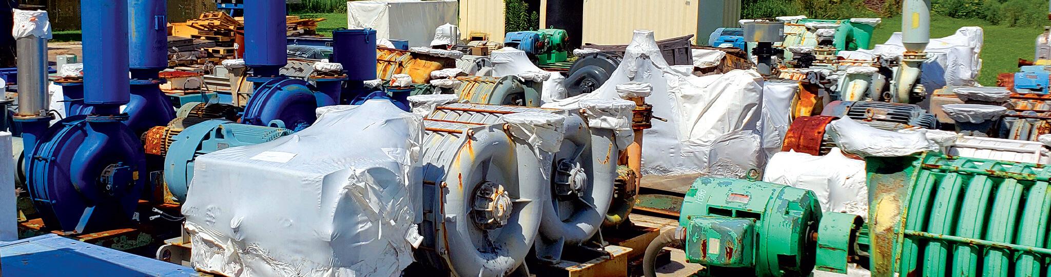Used-Blower-Used-Compressor