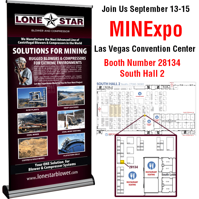 Lone-Star-Blower-Compressor-Mining-MinExpo-2021-Booth-28134-S2